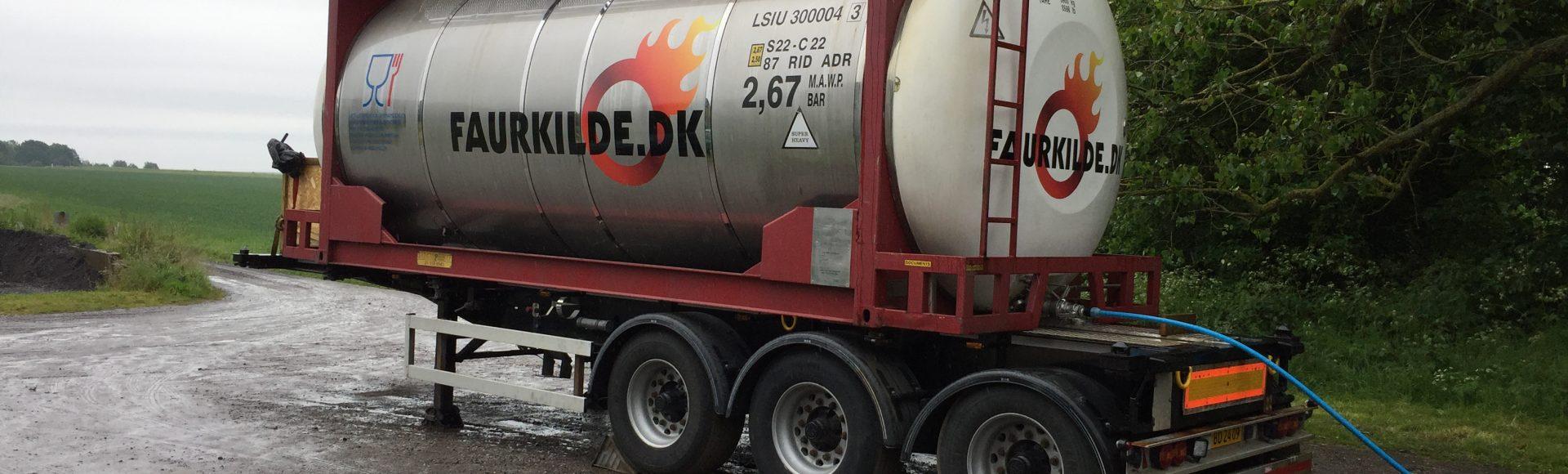 Vand på Nyord fra tankbiler!