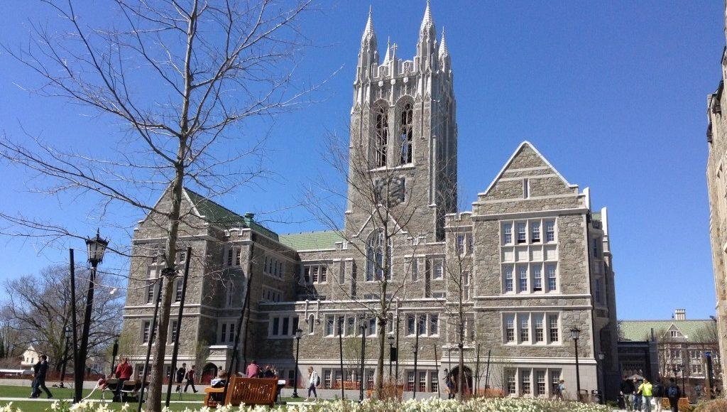 Boston College og Møllestangen!